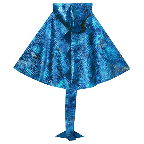 Blue Dragon Cloak with Tail