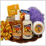 Tropical Beauty Spa Gift Basket - Bath and Body Set - A Mohter's Day Gift Idea!