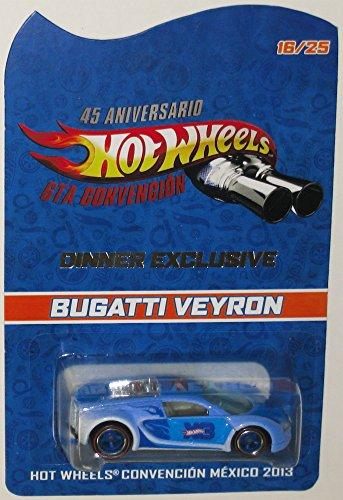 Bugatti Veyron Hot Wheels 2013 Mexico Convention Very Rare