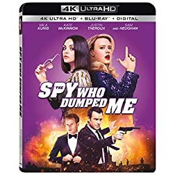 The Spy Who Dumped Me [4K Ultra HD + Blu-ray]