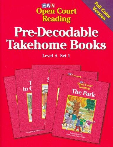 Pre-Decodable Takehome Books: Level A, Set 1 (Open Court Reading) PDF