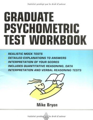 Graduate Psychometric Test Workbook