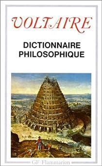 Dictionnaire philosophique par Voltaire