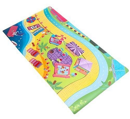 Polly Pocket:  All That  Playmat for the Rollercoaster Hotel - 1