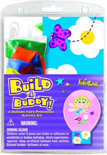 Pioneer National Latex Build-A-Buddy Fairy Princess, Assorted