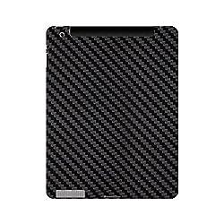 Skin4gadgets Black Carbon Fiber Texture Tablet Skin for APPLE IPAD 3
