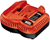 Black & Decker FSMVC 9.6-Volt to 18-Volt Slide Style Battery Charger