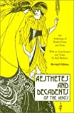 Aesthetes and Decadents of the 1890's: Anthology of British Poetry and Prose