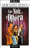 echange, troc Une nuit à l'opéra - VOST [VHS]