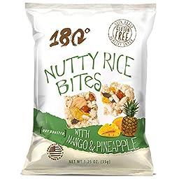 NUTTY RICE BITES WITH MANGO & PINEAPPLE 1.25 OZ