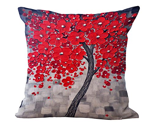 bold vivid and fun red accent pillows xpressionportal