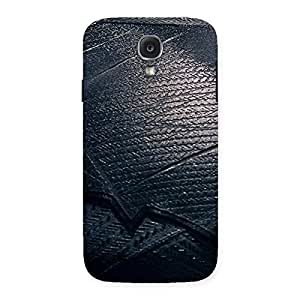 Impressive Knight Suit Black Print Back Case Cover for Samsung Galaxy S4