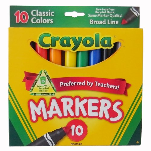 Crayola 10 классический широкий ассортимент…