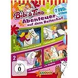 """DVD Doppelbox Bibi und Tina Ferien auf dem Martinshof/ Sabrinas Fohlen/ Die Wildpferde/ Der verhexte Sattelvon """"Gerhard Hahn"""""""