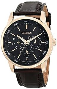 Citizen Men's BU2013-08E Dress Analog Display Japanese Quartz Brown Watch