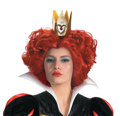 Red Queen Wig From Disney's Alice In Wonderland Red Queen Costume Wig 20924
