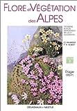 echange, troc Claude Favarger - Flore et végétation des Alpes