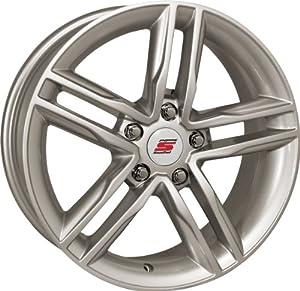 16×7 Sendel S30 Silver Wheel Rim 5×115 +40mm Offset 73.1mm Hub Bore