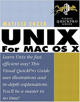 UNIX for Mac OS X: Visual QuickPro Guide (Visual QuickPro Guides)