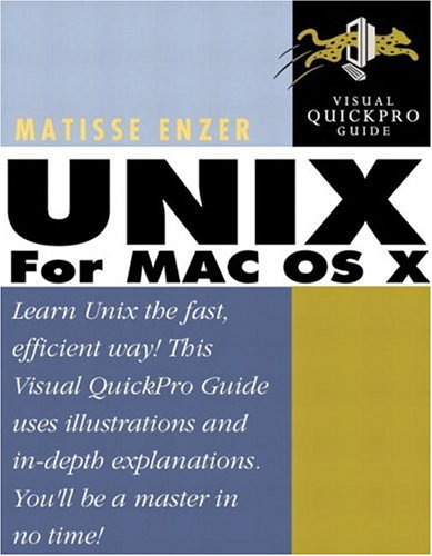 UNIX for Mac OS X: Visual QuickPro Guide