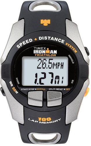 Image of Timex Ironman T5E691 Men's 100-Lap Speed + Distance Watch (T5E691F5)