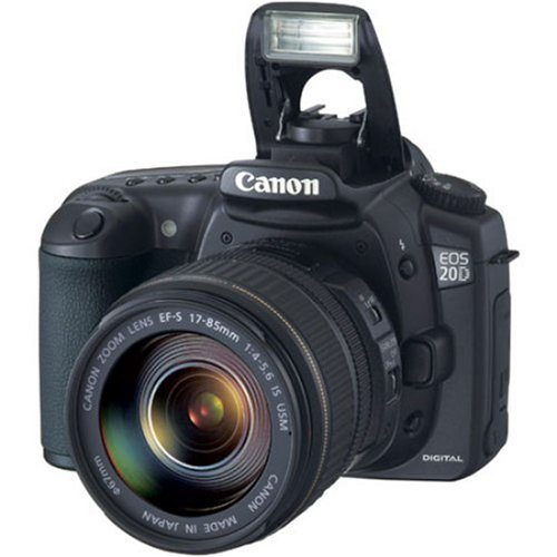 Canon EOS 20D DSLR Camera with EF-S 17-85mm f/4-5.6 IS USM Lens (OLD MODEL)