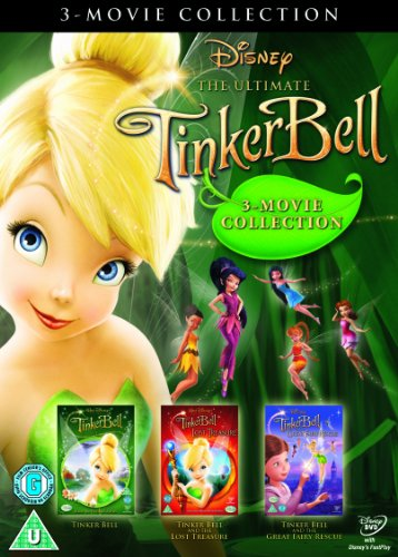 Tinker Bell Triple Pack (Tink, Lost Treasure and Fairy Rescue) [DVD]