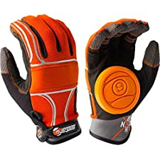 Sector 9 BHNC Orange Small / Medium Slide Gloves Downhill Slide Gloves