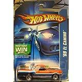 Hot WheelsHot Wheels 2006-172 '69 El Camino ORANGE おもちゃ / ホットウィール2006-172 '69エル?カミーノORANGE [並行輸入品]