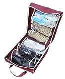 Travel Waterproof Ventilation Folding Shoes Storage Organizer Portable Fashion Closet Women/men Shoe Bags 35*20*40