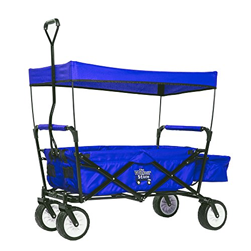 Cheapest Price! Folding Blue Sport Wagon