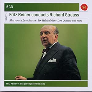Fritz Reiner conducts Richard Strauss - Also sprach Zarathustra, Ein Heldenleben, Don Quixote and more