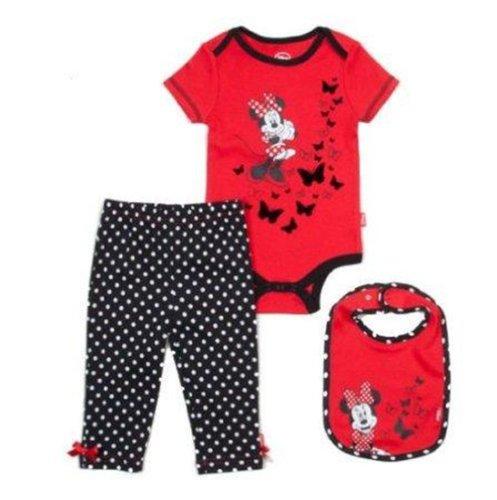 Disney Minnie Mouse Polka Dot Bodysuit/Leggings Set - Baby Girls (3/6 Months) front-1071841