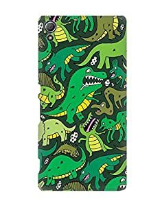 Pick Pattern Back Cover for Sony Xperia Z4