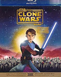 Star Wars: The Clone Wars / Star Wars: La Guerre des clones (Bilingual) [Blu-ray]