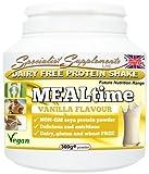 MEALtime: dairy free protein powder (300g tub powder)