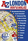A-Z London Map and Walks (Street Maps & Atlases)