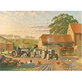 All the Fun of the Fergies - tractors (greetings card)