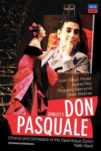 Don Pasquale (Florez) - Donizetti - DVD