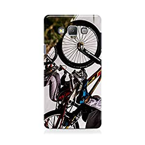 Motivatebox - Bike Race Along The Slope Samsung Galaxy Grand 2 G7106 cover - Matte Polycarbonate 3D Hard case Mobile Cell Phone Protective BACK CASE COVER. Hard Shockproof Scratch-Proof Accessories