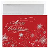 Hortense B Hewitt Holiday Greetings, Christmas Snowflakes, Box of 16