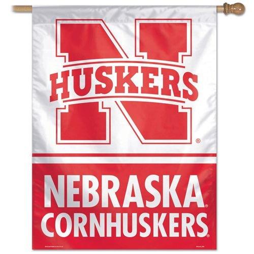 """Nebraska Huskers 27""""x37"""" Banner - N Logo--(Package of 2)"""