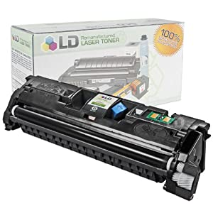 LD © Remanufactured Replacement Laser Toner Cartridge for Hewlett Packard Q3960A (HP 122A) Black