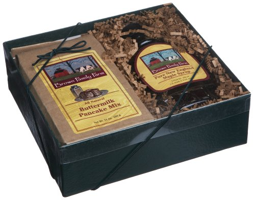 Brown Family Farm Gift Box, 8-Ounce Pure Maple