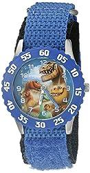 Disney Kids W002204 Spot,Arlo,Ramsey,Butch and Nash Analog Display Analog Quartz Blue Watch