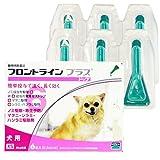 犬用 フロントラインプラスドッグ XS (5kg未満) 6ピペット (動物用医薬品)
