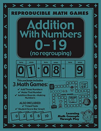 Lori Wolfe - Addition with Numbers 0-19 - Math Games and Math Lesson Plans