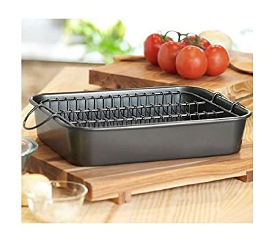 Chef Buddy 82-RP43 Roasting Pan with Floating Rack
