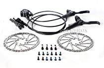 AVID Elixir 1 Hydraulic Brake Set Front & Rear Black G3 160mm Rotor