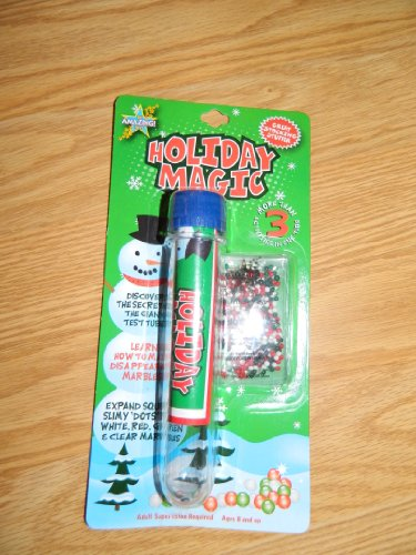 Holiday Magic GIANT Test tube Activities by Be Amazing Toys - 1